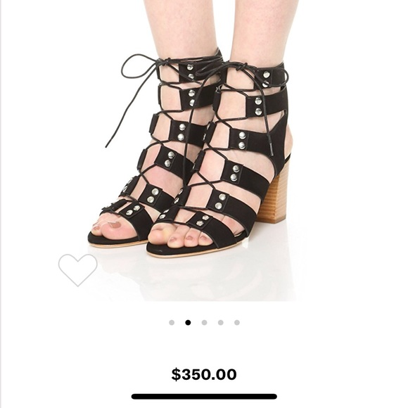 22126a644760 Loeffler Randall Shoes - Loeffler Randall Hana Lace Up Gladiator Sandals